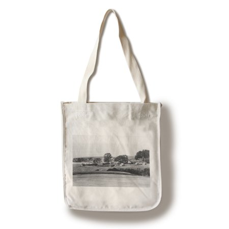 Sebastopol, CA Fort Ross Colony View Photograph #1 (100% Cotton Tote Bag - Reusable) (Ross Pipe Bags)
