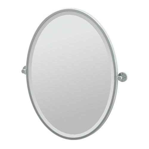 Gatco Channel Bathroom Vanity Mirror by Gatco