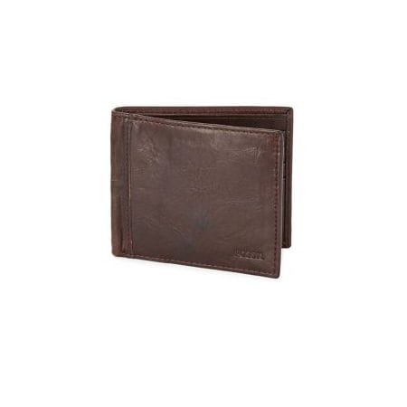 Fossil Men's Ingram Bifold With Flip Id Rfid Leather Wallet - Brown ()