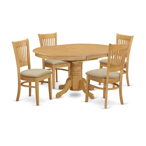 August Grove Spurling 5 Piece Extendable Dining Set