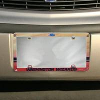 Washington Wizards Court Plastic License Plate Frame