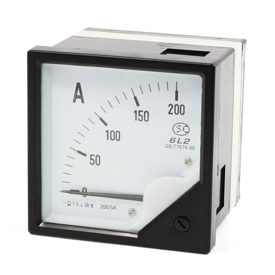 0-200A Analogue AC Ammeter Current Panel Meter 6L2 1.5 Accuracy