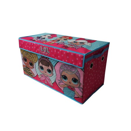 LOL Surprise Soft Collapsible Storage Toy Trunk
