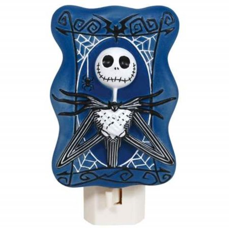 Jack The Nightmare Before Christmas Night Light 4.75 Inches 7 Watt - Jack The Nightmare Before Christmas Night Light 4.75 Inches 7 Watt