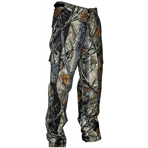 Camo Poly-Cotton-Twill 6-Pocket Pants by Springs Creative Products Group, LLC.