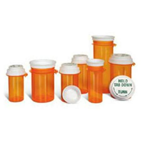 Amber Sb (WP000-B-60 B-60 (SB-60) B-60 (SB-60) Vial Medicine 1-Click PP With Cap Amber Reversible 60 Drams 45/Ca Rexam Prescription Products )