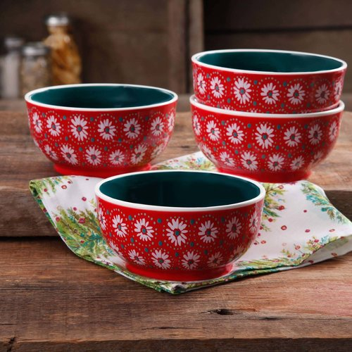 The Pioneer Set of 4 Woman Holiday Daisy 6