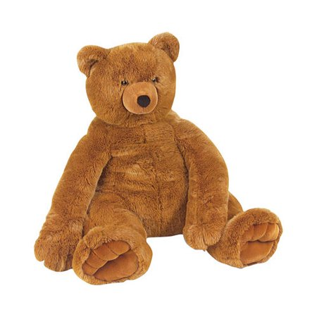 Children's Melissa & Doug Jumbo Brown Teddy Bear for $<!---->