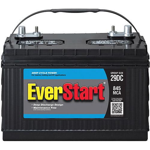 EverStart Marine Battery, Group Size 29DC