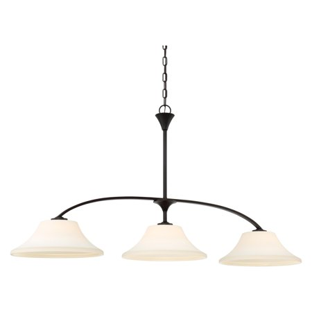 Nuvo Fawn 3 Light Kitchen Island Pendant