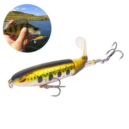 13G/10CM Lure Bait Propeller Hard Bait Soft Spinning Tail Fishing Bait