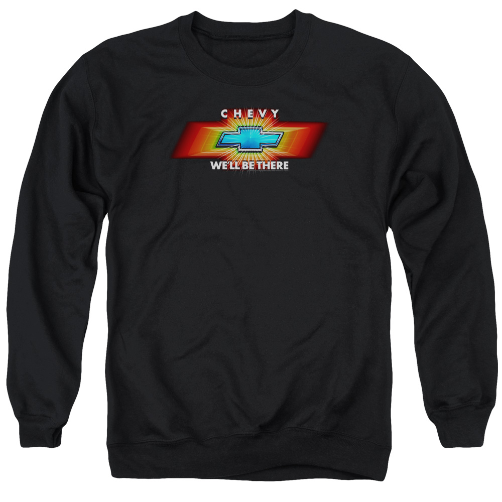 Chevy Chevy We'Ll Be There Tv Spot Mens Crew Neck Sweatshirt