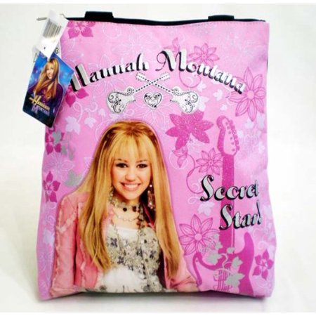 Tote Bag - Officially Licensed Secret Star Pink Shoulder Bag; Great Gift Idea, Hannah Montana Shoulder Pink Tote Bag By Hannah Montana Hannah Montana Clothes