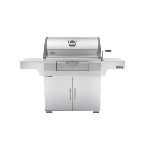 """Napoleon PRO605CSS 67-1 2"""" Freestanding Charcoal Grill with Front Loading Door f by Napoleon"""
