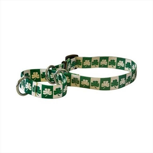 Yellow Dog Design M-SH101S Shamrock Martingale Collar - Small