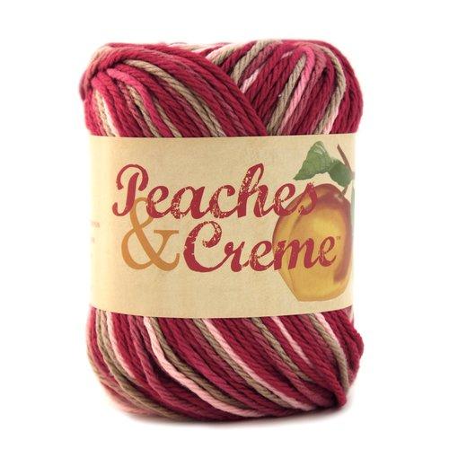 Peaches & Creme 4.56g Yarn, Damask