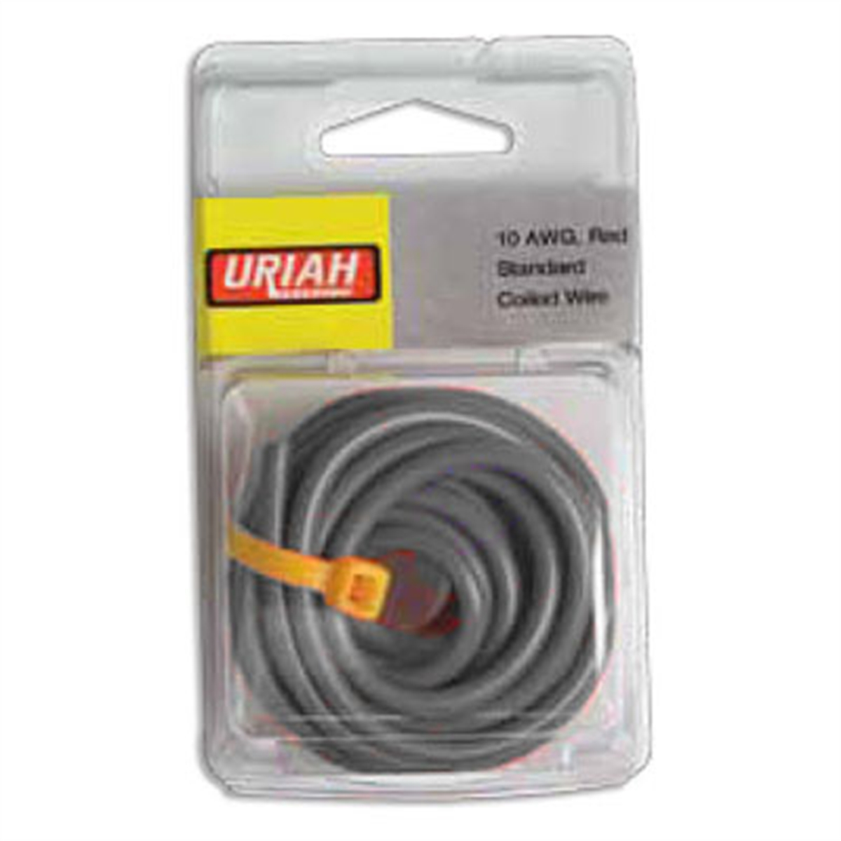 Wire 10 Awg Black Stranded 8'