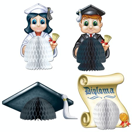 Walmart Seller Central >> 48 Graduation Celebration Honeycomb Tissue Paper Table Centerpiece Party Decorations - Walmart.com