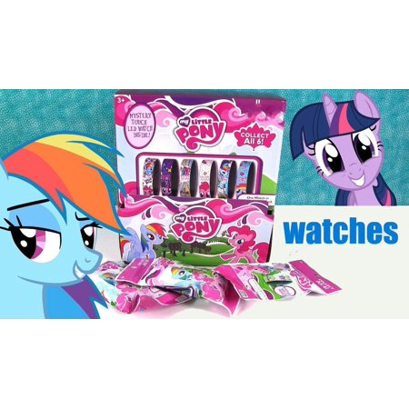 My Little Pony Mystery Watch Blind Pack Touch LED Watch (Watches For Men Touch)