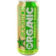 Rockstar Organic Island Fruit Flavor Energy Drink, 15 Fl. Oz.