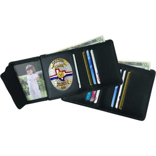 Strong Leather Company Hidden Badge Wallet - 79520-0552 - 79520-0552 - Strong Leather Company