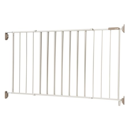 Safety 1St Wide   Sturdy Hardware Mounted 64 In  Sliding Metal Baby Safety Gate