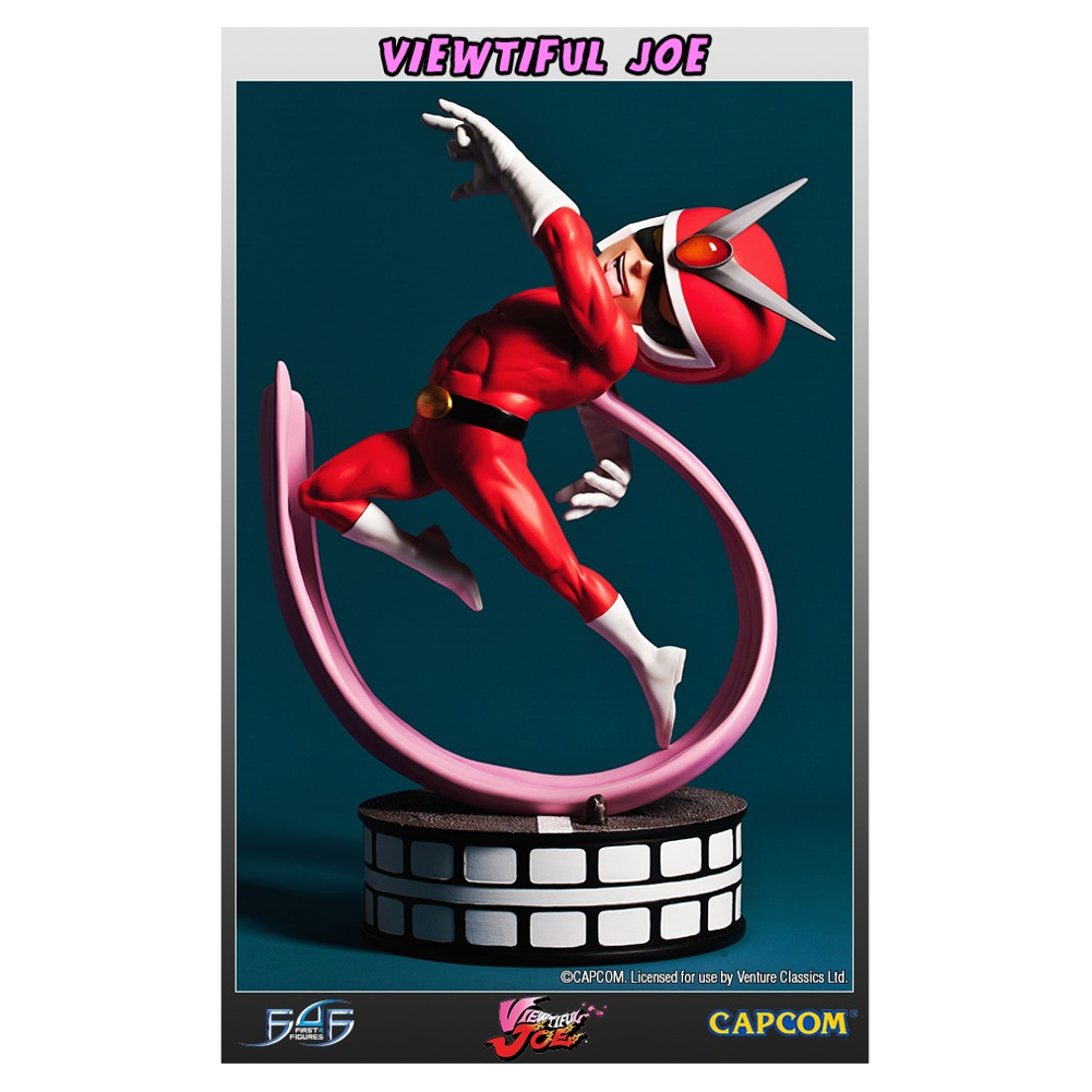 Viewtiful Joe Capcom's All-Stars Collectible Statue
