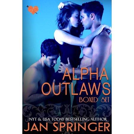 Alpha Outlaws Boxed Set - eBook