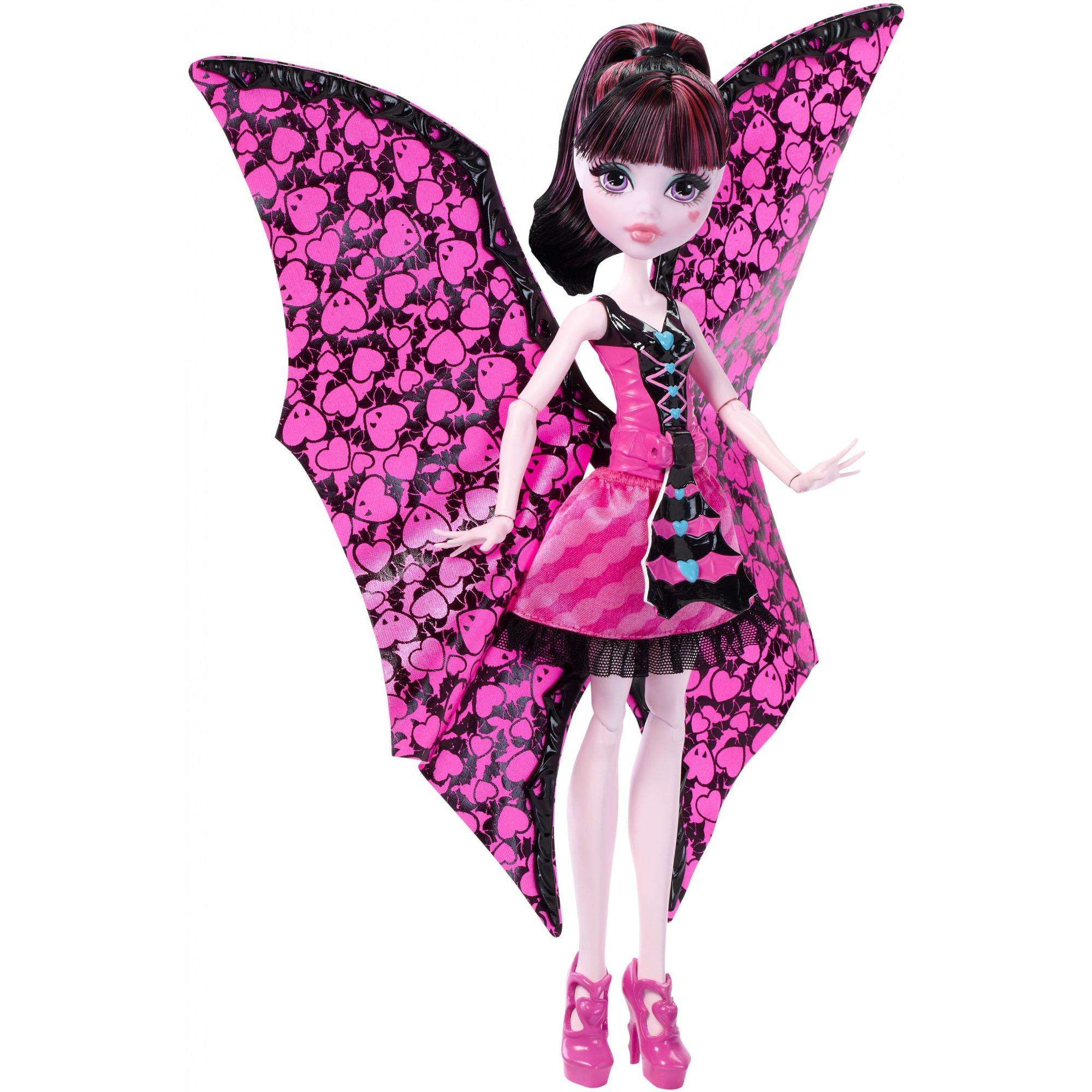 Monster High Ghoul-To-Bat Transformation Draculaura Doll by MATTEL INC.