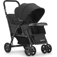 Joovy Caboose Too Sit and Stand Tandem Stroller, Black
