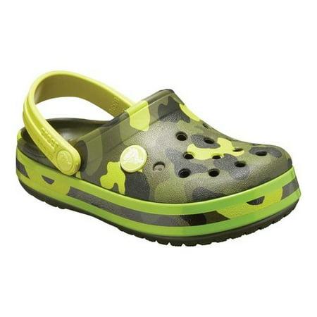 f85d3c05b497 Crocs - Crocs Unisex Junior Crocband MultiGraphic Clog - Walmart.com