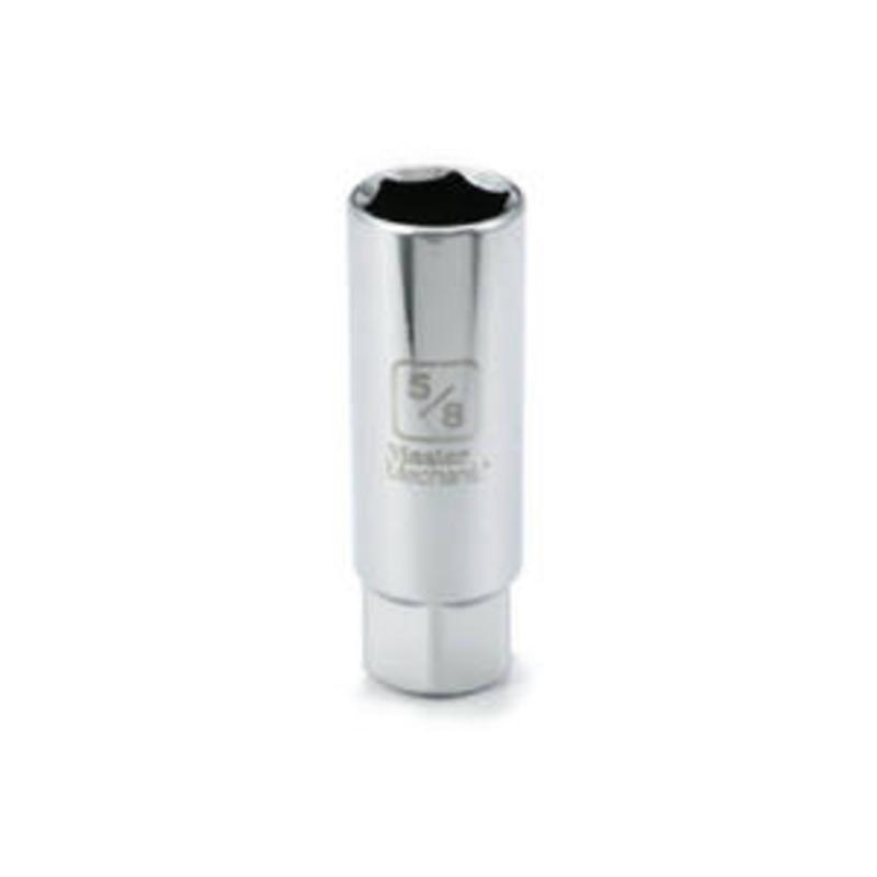"""5/8"""" Spark Plug Socket Apex Tool Group Socket 549113 Silver Finish  052088057919"""