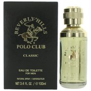 Beverly Hills Polo Club Classic Cologne 3.4oz EDT Spray men