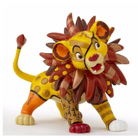 Romero Britto Disney Simba The Lion King Pop Art Miniature Figurine 4049380 New