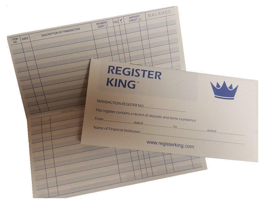 checkbook registers