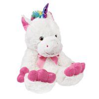 Holiday Time Tootsie Footsie Plush Toy, Unicorn