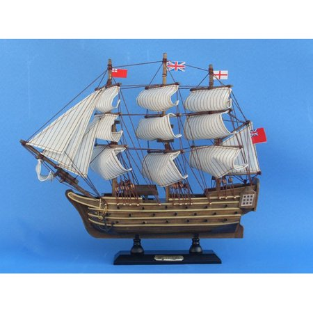 Hms Victory Gift Set - Handcrafted Nautical Decor HMS Victory Model Ship