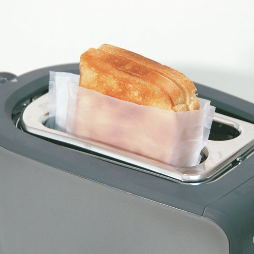 Toast It (Model 1814) Reusable Toaster BAGS- 2 Pack (Perfect for Pop Up Toasters, Sandwich Makers)