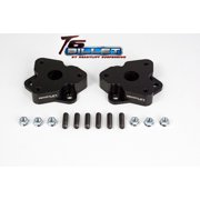 ReadyLift Suspension 06-15 Dodge Ram 1500 2.0in T6 Billet Aluminum Leveling Kit Anodized - Black