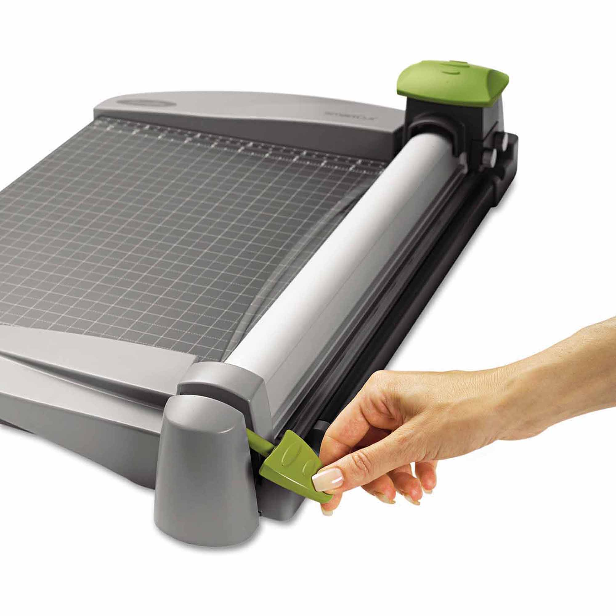 "Swingline SmartCut Commercial Heavy-Duty Rotary Trimmer, 30 Sheets, Metal Base, 12"" x 22"""
