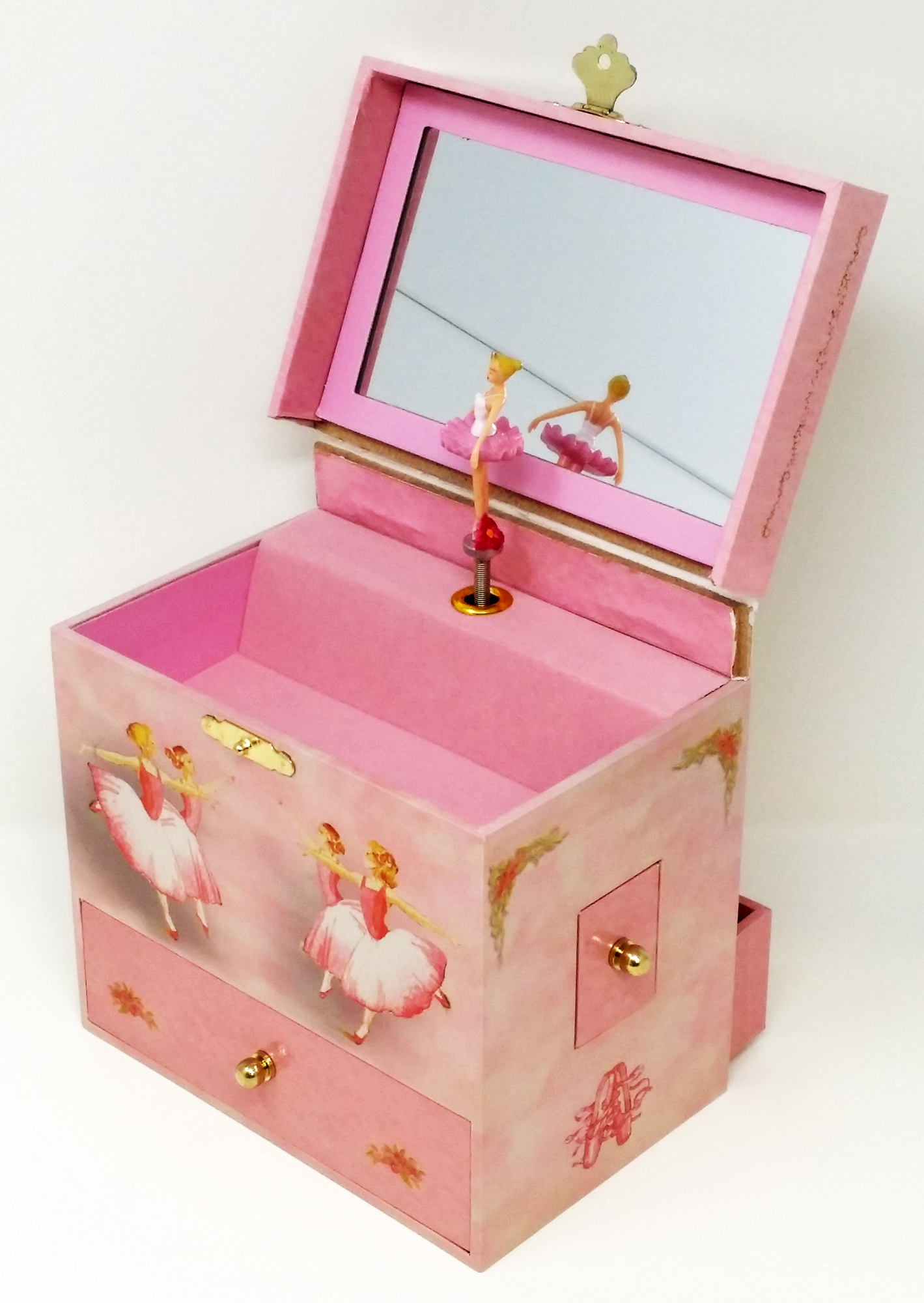 Ballerina Treasure Music Box Open Box Walmartcom