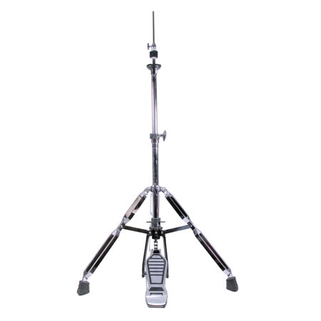 GP Percussion HS1018 Professional Series Hi-Hat Heavy Duty Stand