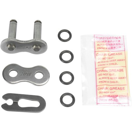 Parts Unlimited Clip Connecting Link for 525 PO Series Chain Natural   1225-0181