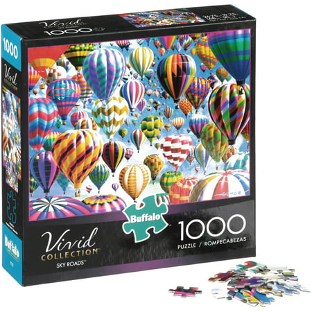 - Buffalo Vivid Collection Sky Roads Puzzle 1000 pc Box