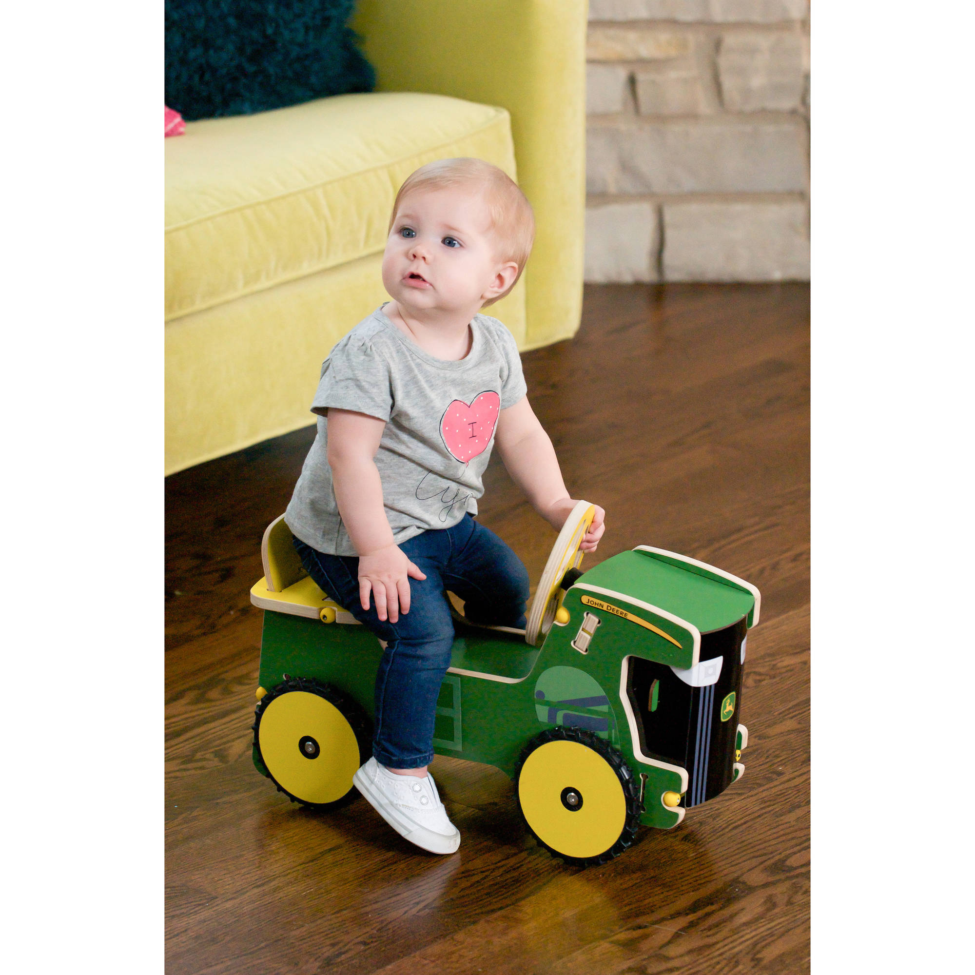 John Deere Junior Ride-On Tractor