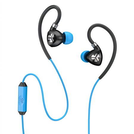 JLab FIT 2.0 Sport IPX Earbuds with Mic and Memory Wire