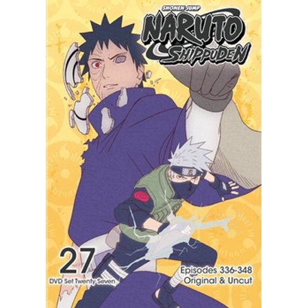 Naruto Shippuden: Box Set 27 (DVD)