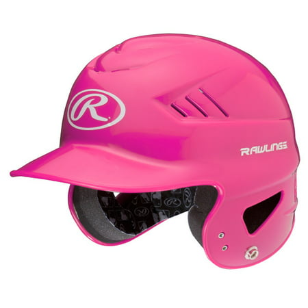 Rawlings Cooflo Youth T-Ball Batting Helmet, Pink ()