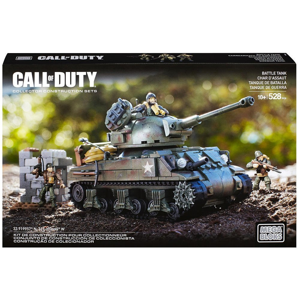 Mega Bloks Call of Duty Legends: Battle Tank by By Mega Brands