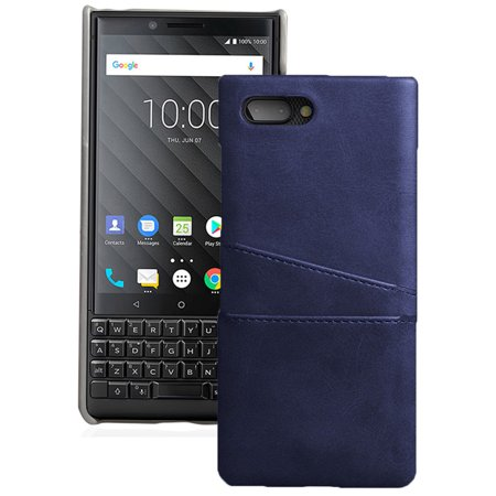 new concept 654e6 5b004 BlackBerry Key2 Case, Credit Card Slot Hard Shell Wallet Cover for  BlackBerry KEY2 Phone, Key 2 (BBF100-1, BBF100-4, BBF100-6)